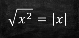 2乗のルートは絶対値