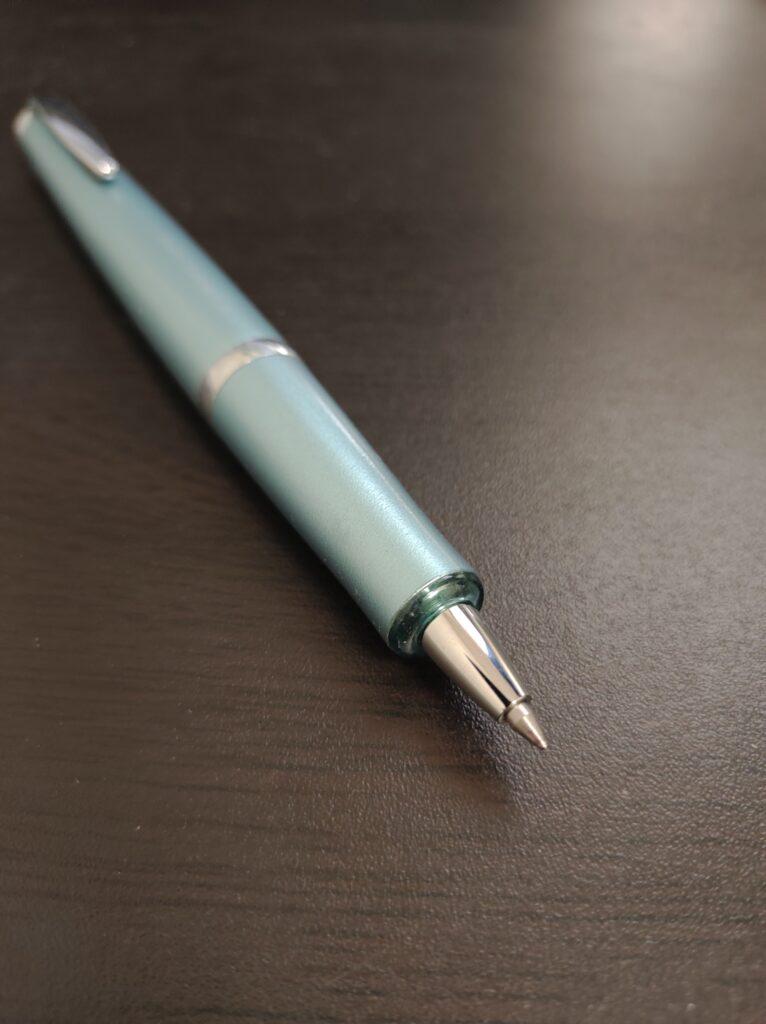 タイムラインボールペン ペン先のチップまで出した後